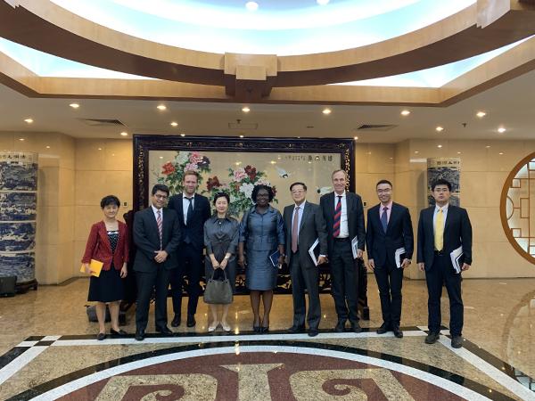 外资司负责人会见世界银行亚太区副行长克瓦一行