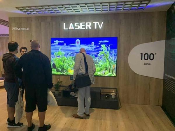 激光电视欲与液晶电视在75英寸激