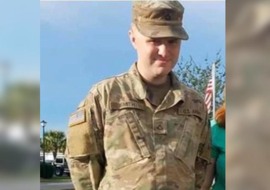 被逮捕的美军士兵史密斯 图自:社交媒体
