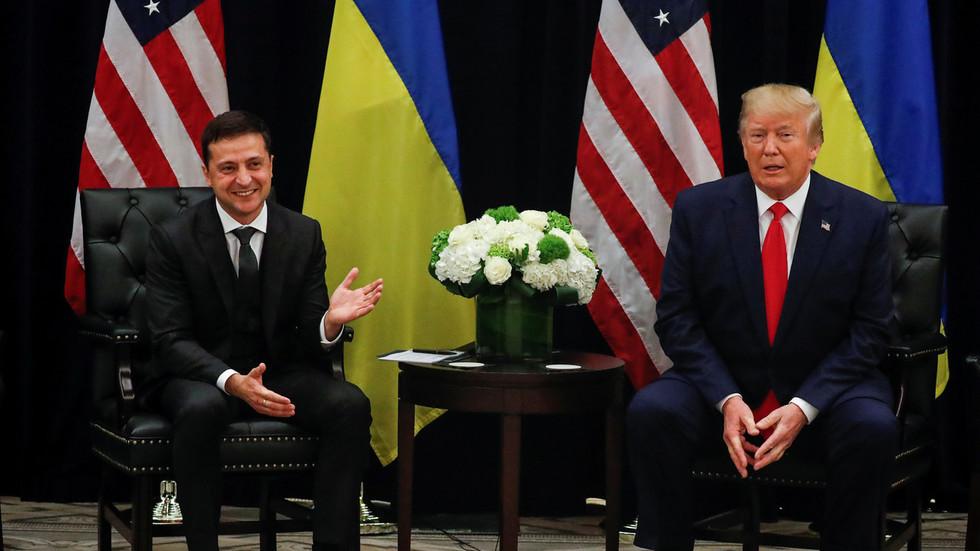 特朗普取泽连斯基接见会面。(图:路透社)