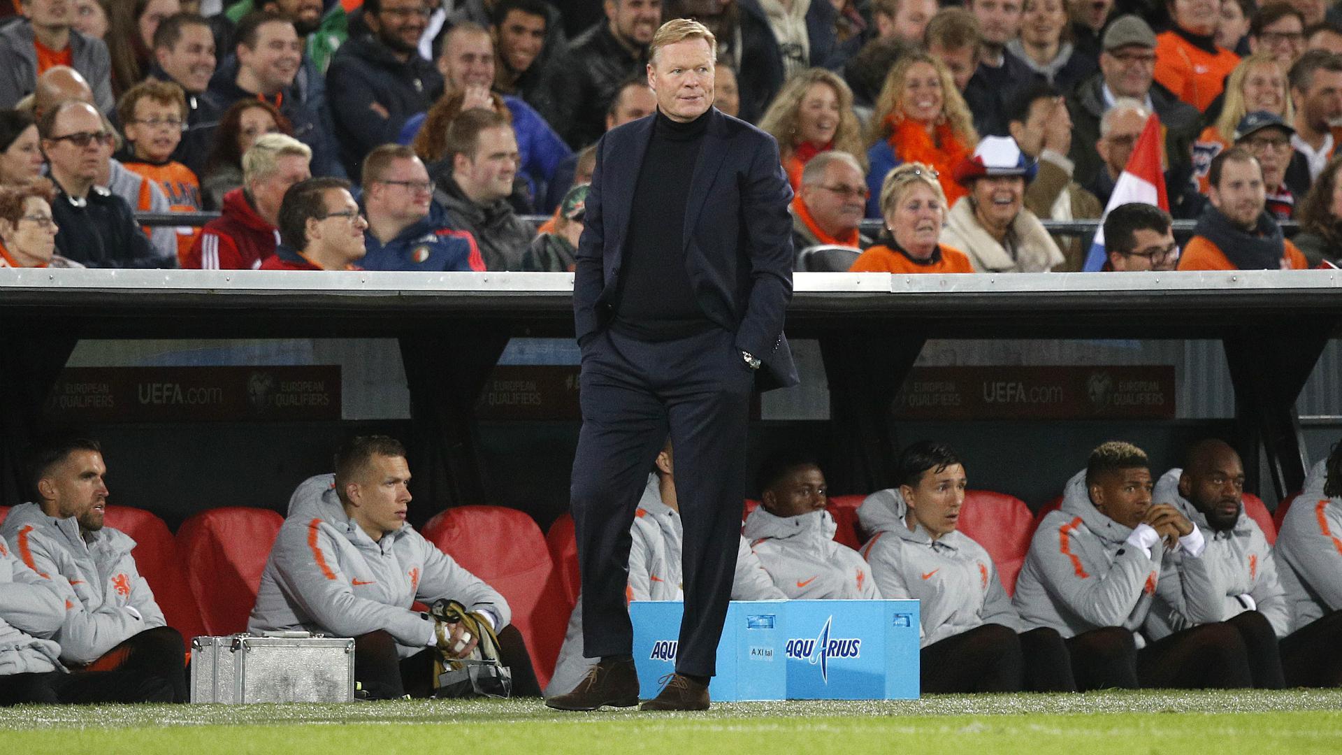 欧预赛荷兰补时逆转 主帅科曼甚是不满