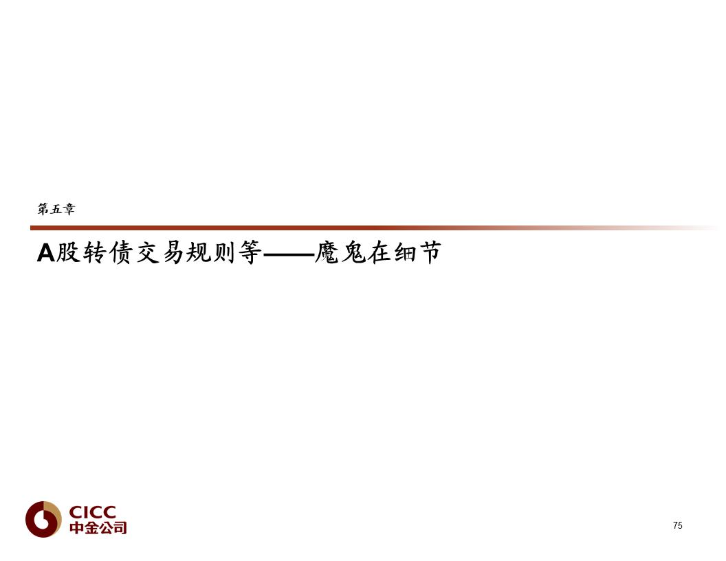 【中金固收·重磅推荐】债市宝典【2019版】——迷雾中的利刃:可转债篇
