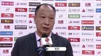 赛后采访-同曦队主教练崔万军:最后一攻小外援效果不错
