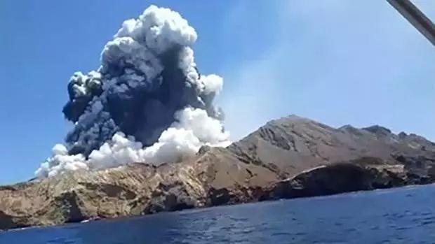 火山喷发多人死伤含两中国人 新
