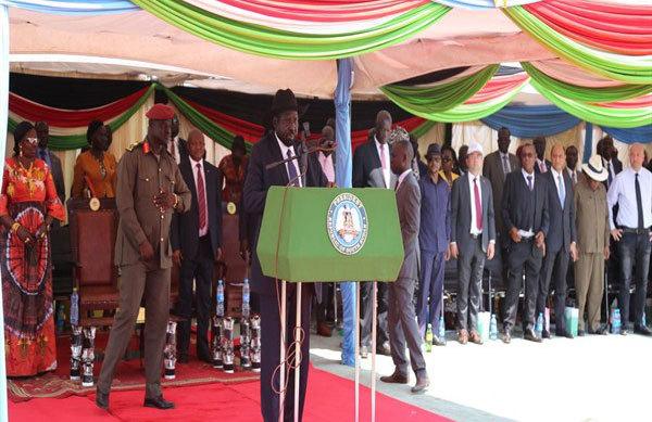 中企参建的南苏丹JUBA市配电系统更新升级项目投产运行