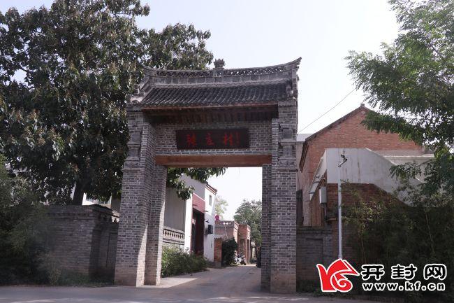 【黄河流域(开封)生态行】张庄:昔日风口变景区