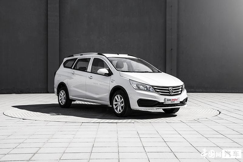 宝骏310W新增两款自动挡车型 售5.78-6.28万元
