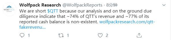 趣头条遭做空股价大跌近8%,机构称其74%的营收是虚假的