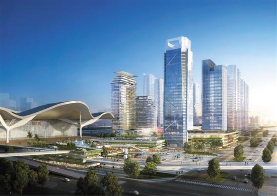 广州北站最新规划:将建4条快速干道连接机场