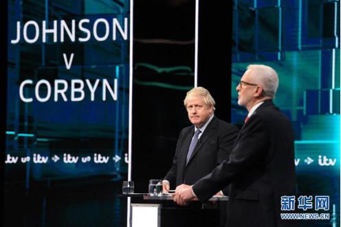"""英国""""双十二""""大选进入最后冲刺"""