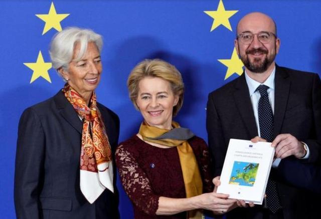 欧盟新任女掌门!这个61岁女超人,连生7个娃,精通3种语言