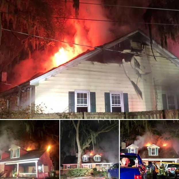 房屋半夜起火 美国宠物狗叫醒主人全家成功脱险