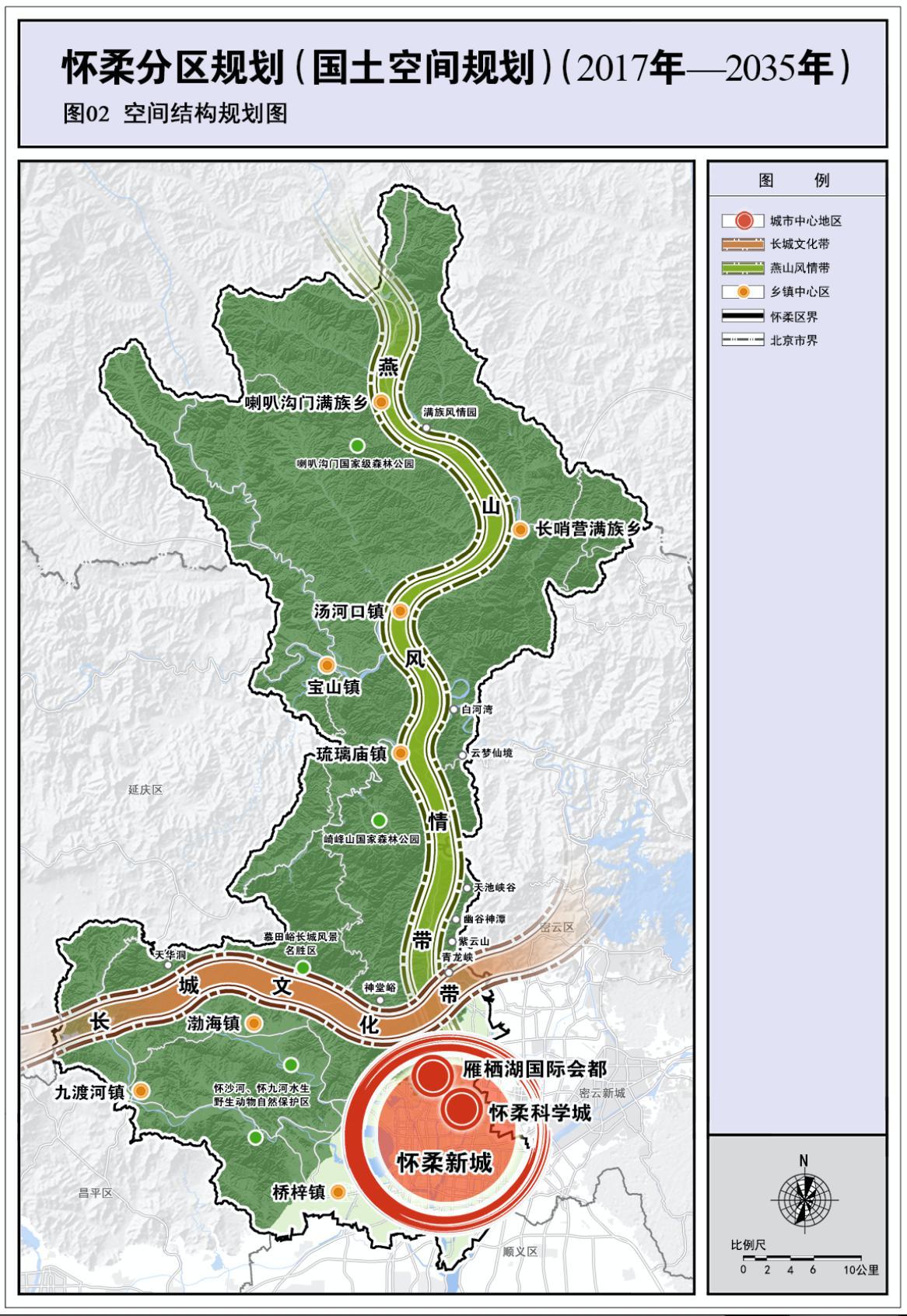 北京怀柔分区规划全文发布:构建长城文化带