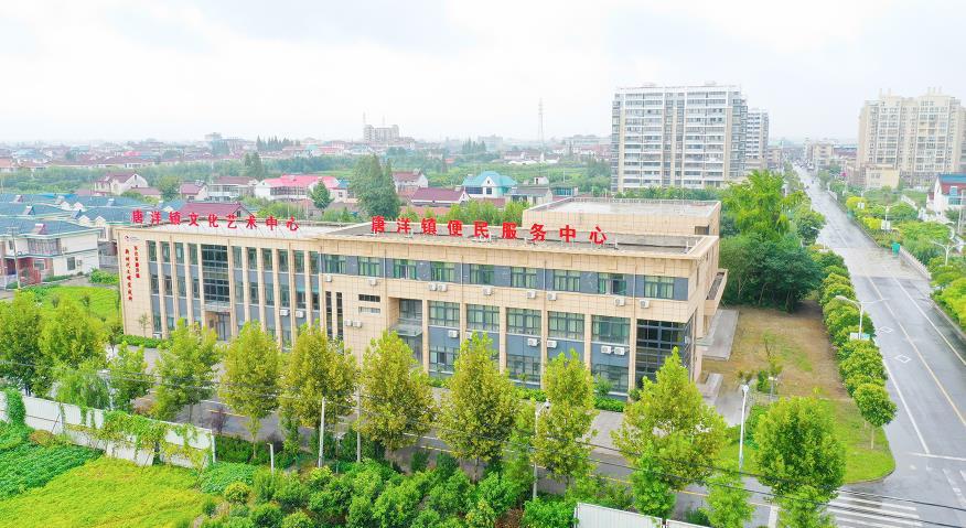 【乡村振兴】江苏东台唐洋镇:新旧变迁更替,产城融合蜕变