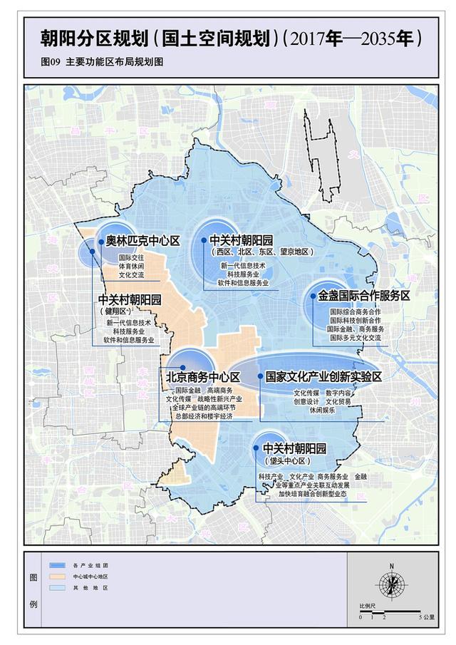 北京朝阳如何建设国际化城区?分区规划一文看未来