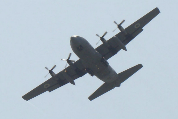 C-130运输机资料图(图:俄罗斯卫星通讯社)