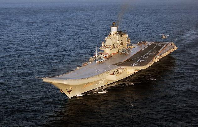 俄航母在维修期间起火致6伤 疑因焊接工作引起