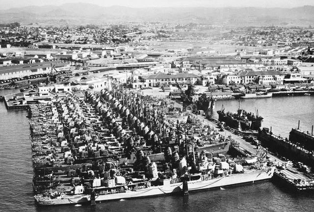 工业建造能力一览无余 二战期间美国海军如何实现大暴兵的?