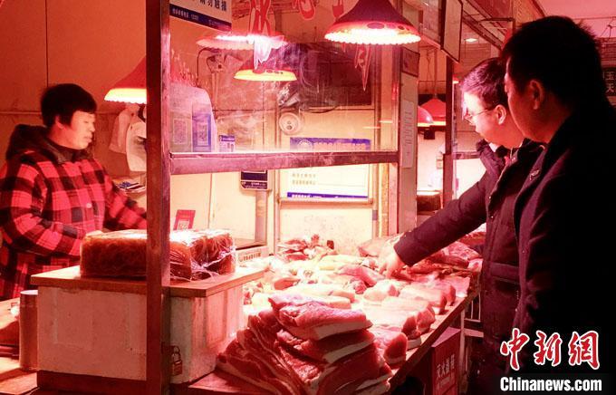 甘肃兰州猪价上涨趋势有所减弱 官方增储备规模保供应