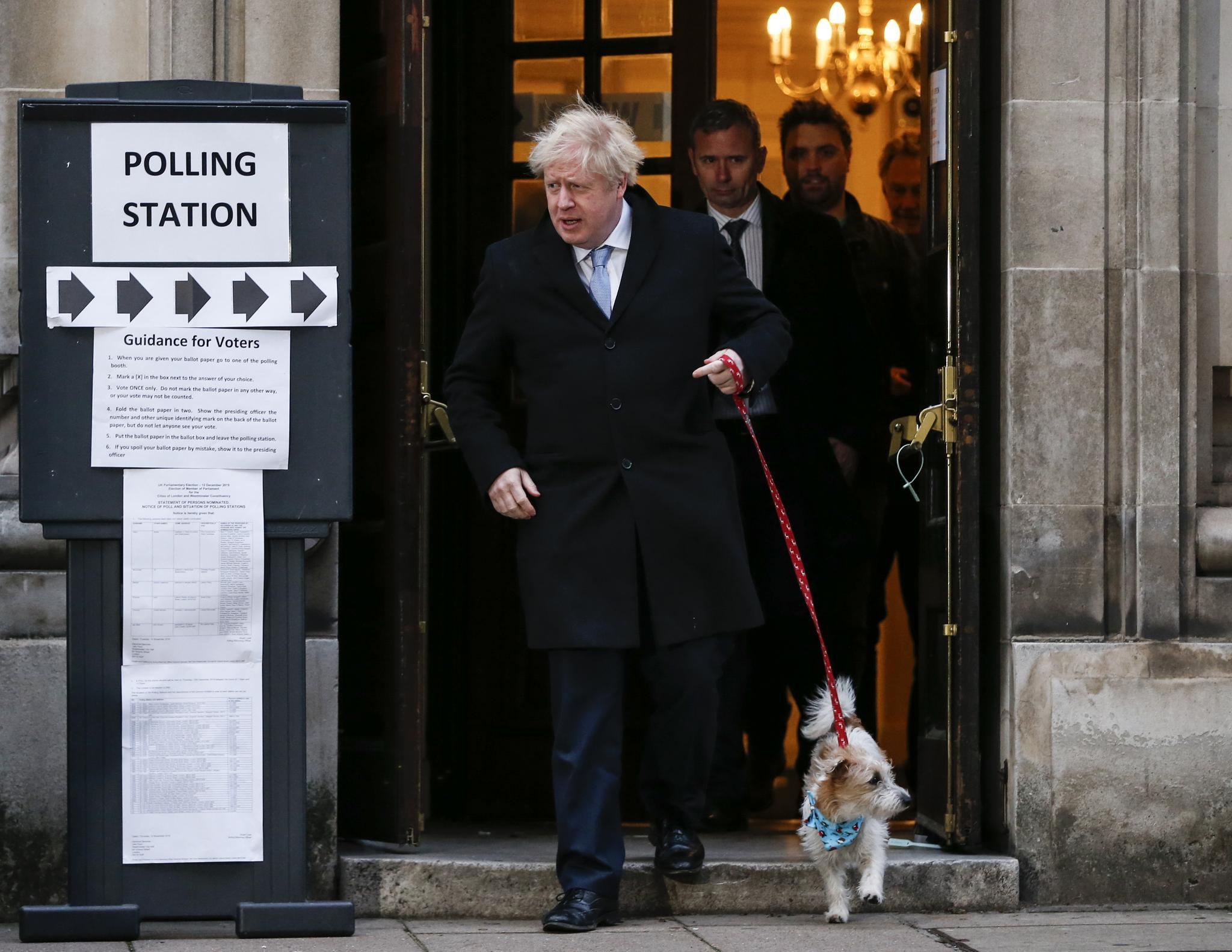 英国首相为议会下院选举投票