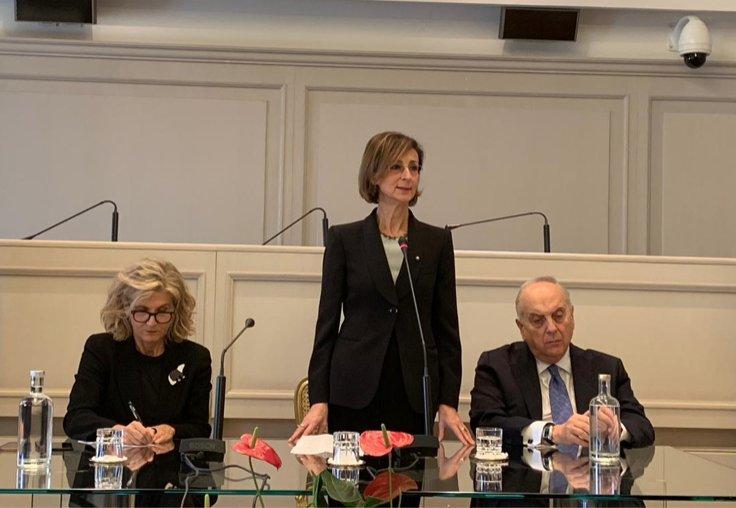 意大利宪法法院产生首位女性院长