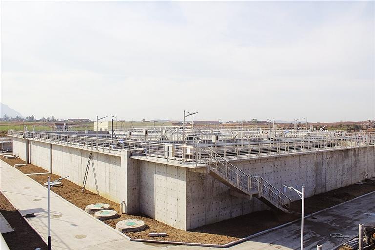 人和污水处理厂扩建项目通过验收