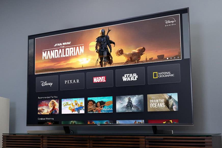 迪士尼+下载量达2200万:会员价仅为Netflix一半,日活950万