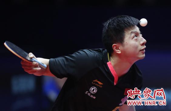 2019国际乒联世界巡回赛总决赛男单1/8决赛 马龙九连胜郑荣植