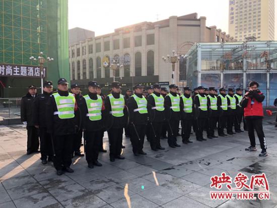 促稳定 保平安!郑州解放路警方扎实推进社会治安立体防控体系建设