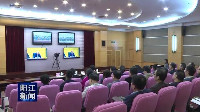 阳江:收看收听农民工工作电视电话会议