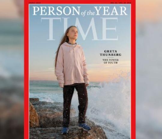 巴西邮电少女登上《一时》寒暑人物,特朗普讽刺她须解决愤怒情绪问题