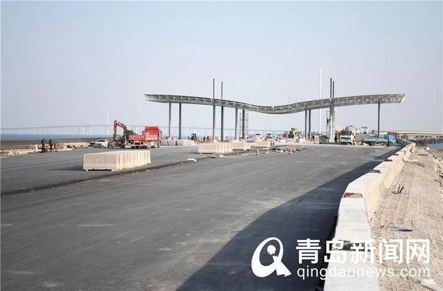 最新!青岛市区到胶州仅需30分钟!这座大桥建设传新进展,明年还通地铁