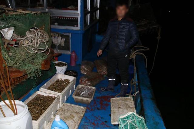 河北海警局成功破获自然保护区内非法捕捞水产品案