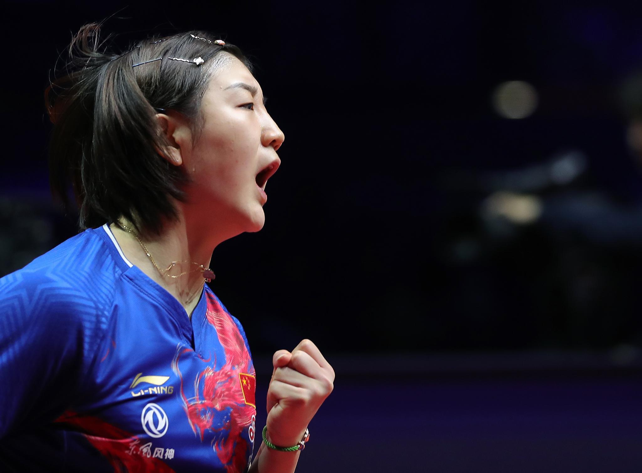 国际乒联巡回赛总决赛|陈梦力克伊藤美诚 国乒锁定女单冠军