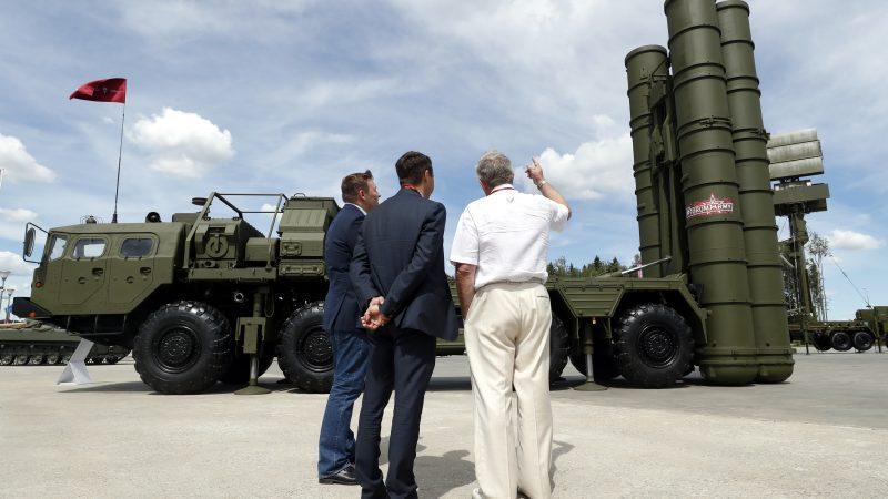S400到货后 土方将与俄签订导弹零碎结合制作和谈