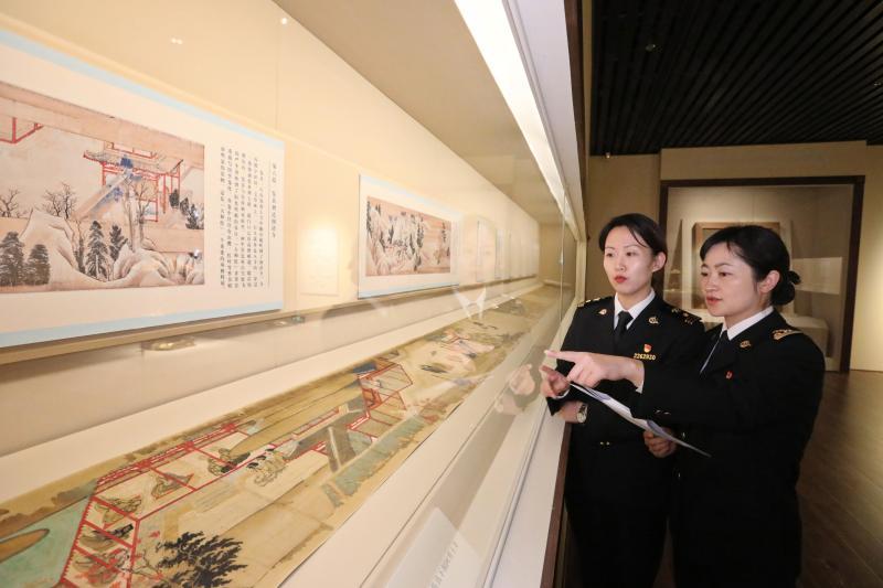 鉴真大和尚的这些文物展品来上海,海关为何要登门查验?