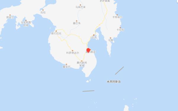 菲律宾棉兰老岛发生5.7级地震震源深