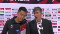 赛后采访-江苏主教练贝西诺维奇:我们在防守上步步紧逼,打乱天津队的节奏
