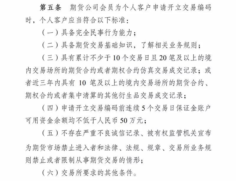 中金所回应:沪深300股指期权开户并未取消50万资金准入门槛