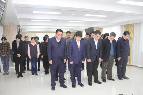 审计署南京特派办组织收看国家公祭仪式视频直播