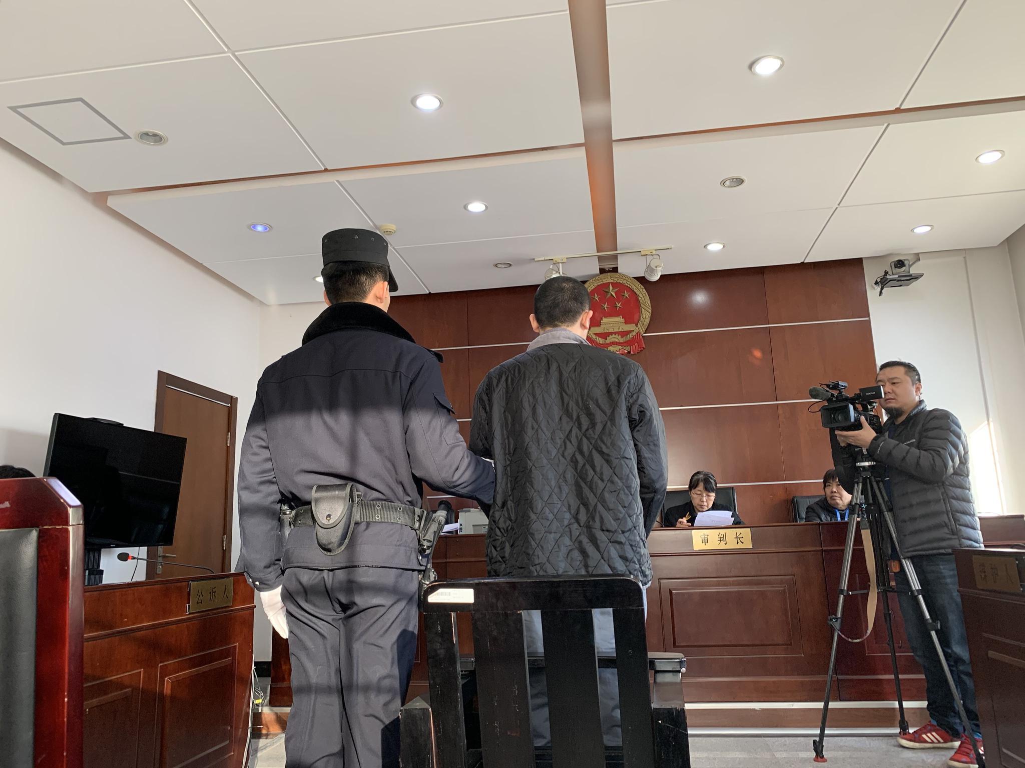 李某受审。新京报记者 刘洋 摄
