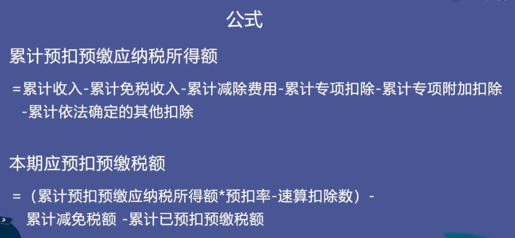 预扣预缴税额计算公式,来源:国家税务总局上海市税务局