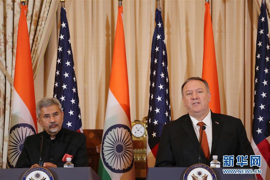 美印再签重要防务协议 扫除印度生