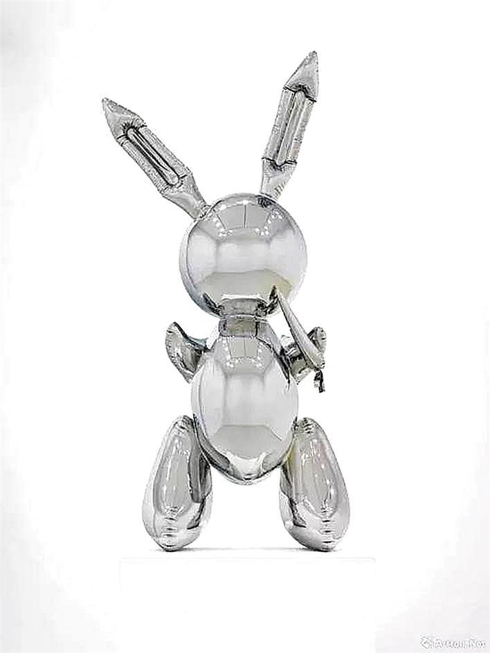 杰夫·昆斯雕塑打破拍卖纪录