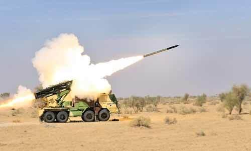 以防万一!印度测试可带核弹头的火箭炮,能摧毁80公里外目标