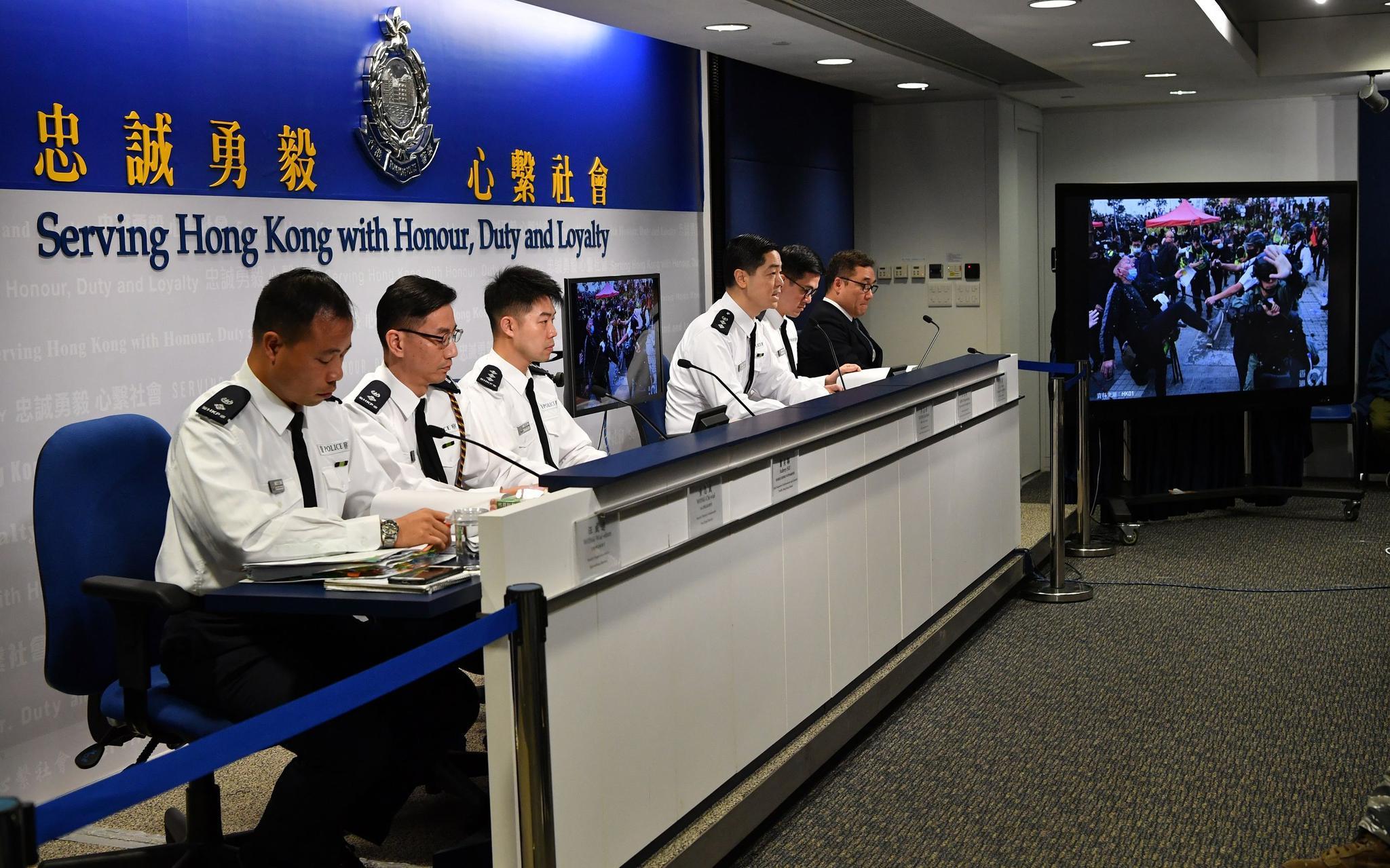 香港警方:全港市民都希望有一个和平安全的平安夜