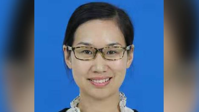 中国学者任敬 图源:南威尔士警方