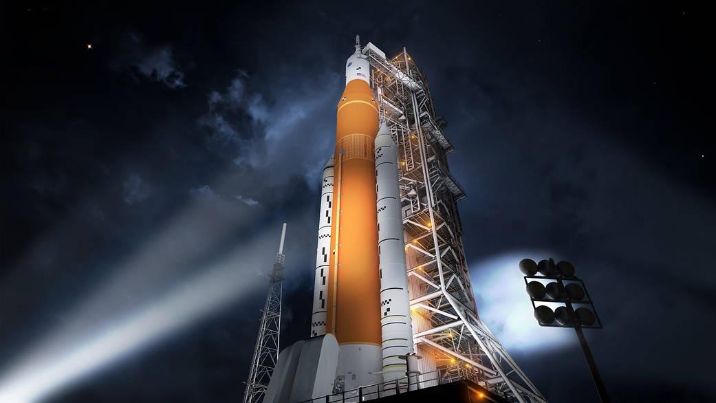 空间发射系统效果图 图自NASA