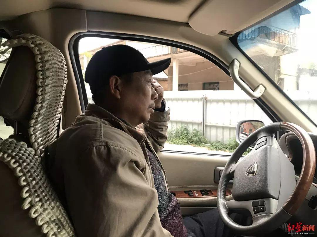 ▲ 章荣高的工作是司机