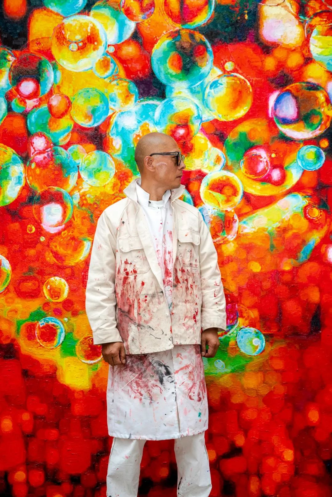 艺术家张洹新作《生命之水》, 讲述了他善变的艺术风格中不变且最有生命力的部分